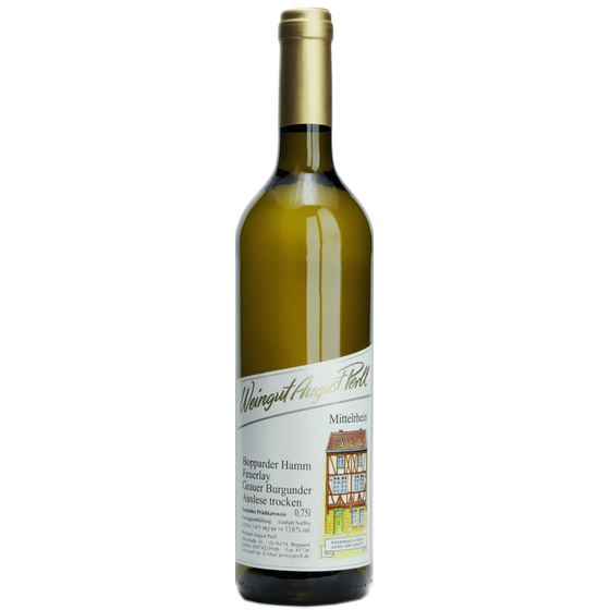 August Perll 2019 Bopparder Hamm Feuerlay Pinot Gris Auslese dry