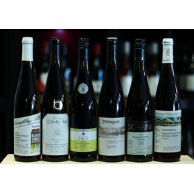 Bopparder Hamm Riesling Late Harvest 6 bottle tasting box Middle Rhine