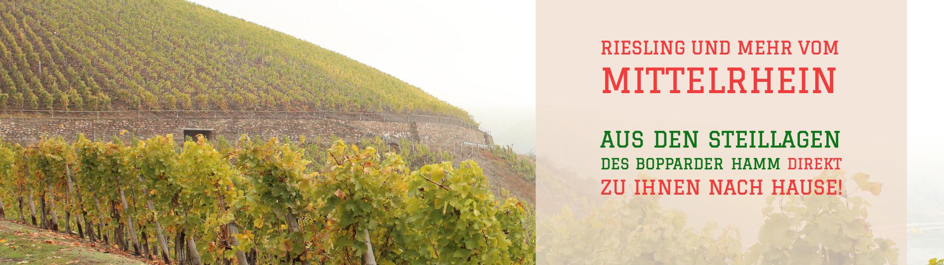 Wein vom Mittelrhein