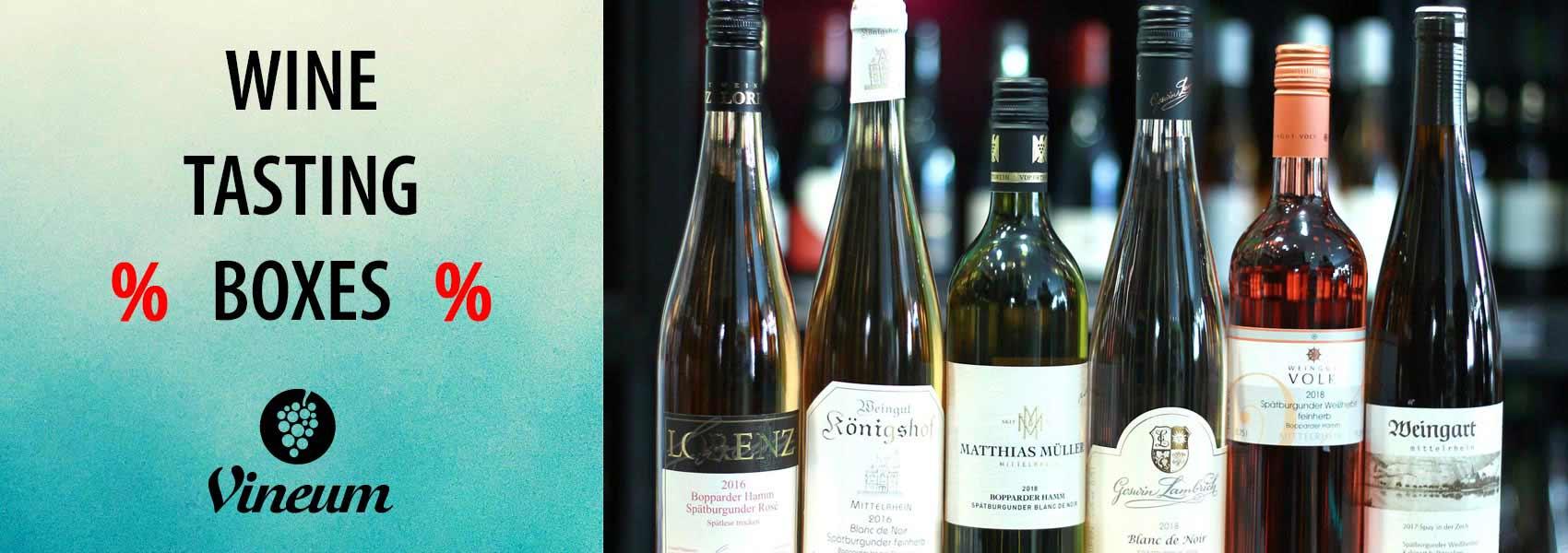 Wine Tasting Boxes Middle Rhine