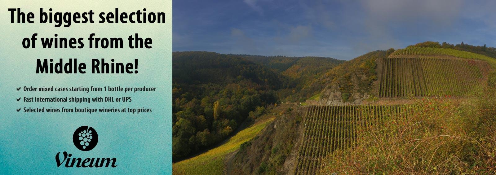Vineum Middle Rhine wines